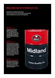 MIDLAND AW 46 HYDRAULIC OIL