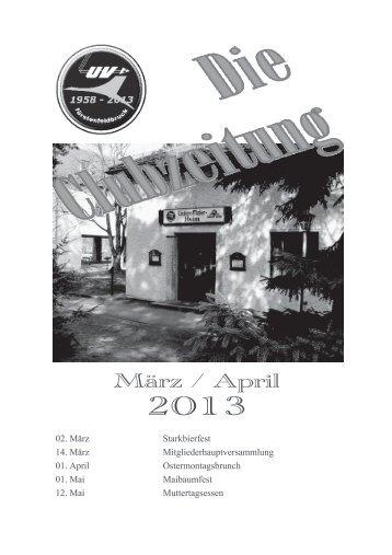 März / April - UV-FFB