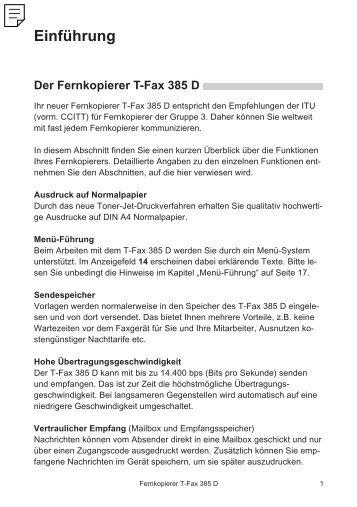 Einführung - Telekom