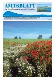Juni - Ausgabe 2013 - Verwaltungsgemeinschaft Straußfurt