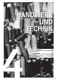 Handwerk und Technik - Volkshochschule Hannover