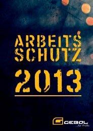 Katalog Arbeitsschutz 2013 - 26,4 Mb - Gebol