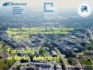 Adlershof - Mitarbeiter-Homepages des MBI: Max-Born-Institut für ...