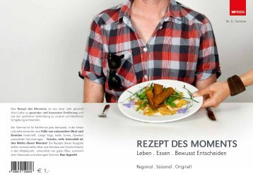 REZEPT DES MOMENTS - MPreis