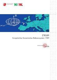 Info-Flyer ETRS89/UTM