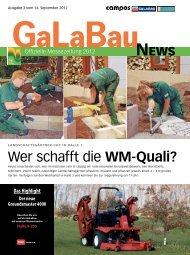 Wer schafft die WM-Quali? - GaLaBau