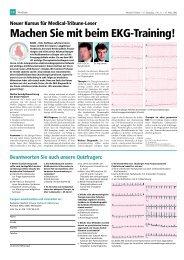 Machen Sie mit beim Ekg-Training! - longlife.medical-tribune.de ...