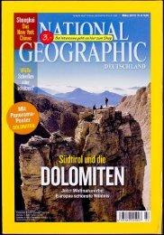 Zeitschrift National Geographic Deutschland 03.2010