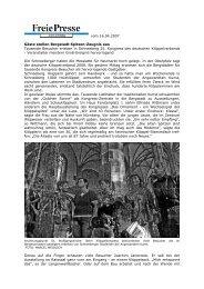 vom 16.04.2007 Gäste stellen Bergstadt Spitzen-Zeugnis aus ...