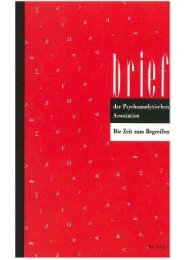Download - Freud Lacan Gesellschaft - Psychoanalytische ...