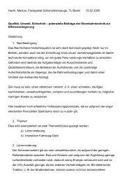 Hecht, Markus, Fachgebiet Schienenfahrzeuge, TU Berlin 15.02 ...