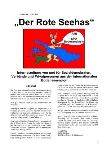 """""""Der Rote Seehas"""" - SP Appenzell Ausserrhoden"""