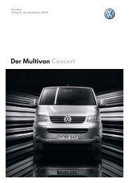 Der Multivan Concert - Autohaus Perski ohg