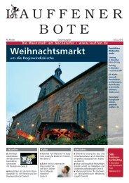 Weihnachtsmarkt - Stadt Lauffen am Neckar