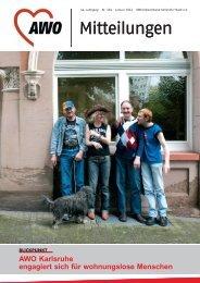 AWO Mitteilungen Ausgabe Januar 2012 - AWO Karlsruhe