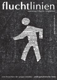 Fluchtlinien - revolta – antikapitalistische linke