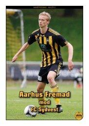 Kamprogram Aarhus Fremad – FCsydvest