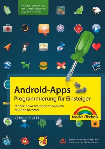 Android-Apps - Programmierung für Einsteiger  - *ISBN ...