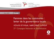 Femmes dans les communes : levier de la gouvernance locale
