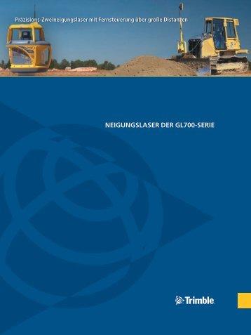 NEIGUNGSLASER DER GL700-SERIE - SITECH West