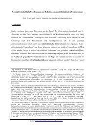 Personalwirtschaftliche Überlegungen zur Definition - Arbeitsgruppe ...