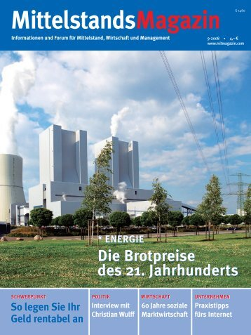 """MIT-Bundesvorsitzender auf """"Tour de Ruhr"""" - Mittelstandsmagazin"""