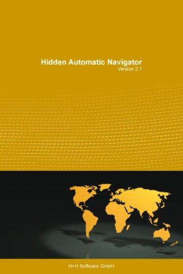 Hidden Automatic Navigator 2.1 - H+H Software GmbH