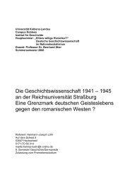 Die Geschichtswissenschaft 1941 - Hermann-Joseph Löhr