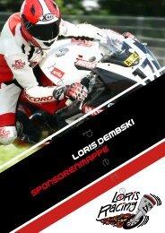 Sponsorenmappe - Loris-Racing