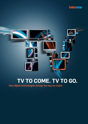 TV to come. TV to go. Die Mindmap. - MAS Marketing Management