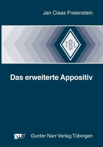 Das erweiterte Appositiv - Narr