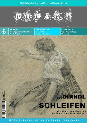 Ausgabe 6 Dezember 2012 - Anne-Frank-Realschule