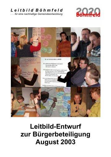 Download des Leitbild-Entwurfs