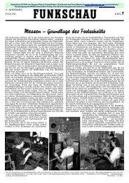 Funkschau 14.Jahrgang 1941 Heft 7 - Radiomuseum.org
