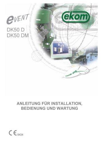 anleitung für installation, bedienung und wartung - Flairmo