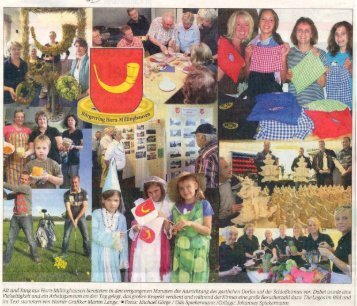 Vorbericht zum Gastlichen Dorf 2010 - Horn-Millinghausen