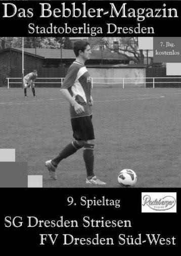 Das Bebbler-Magazin - 9. Spieltag