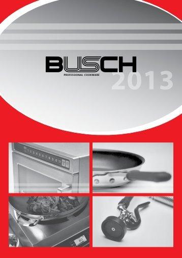 Katalog als PDF - Busch Professional Cookware