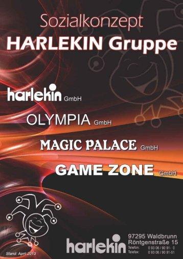 Betriebliches Sozialkonzept der Harlekin-Gruppe - Magic Casino
