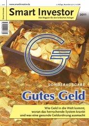 Smart Investor Gutes Geld Auflage2 neu.qxd:Smart Investor 8!2011