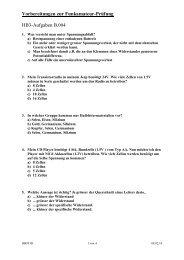 Vorbereitungen zur Funkamateur-Prüfung HB3-Aufgaben ... - HB9THJ