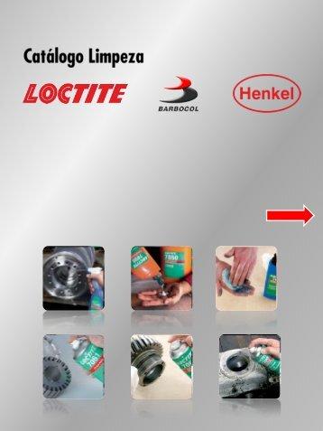 Barbocol - Catálogo Loctite - Produtos de Limpeza