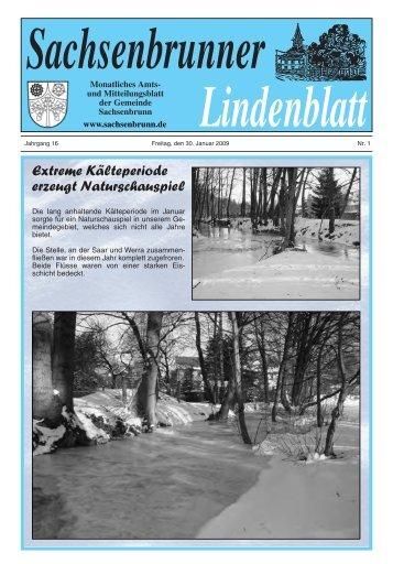 Extreme Kälteperiode erzeugt Naturschauspiel - Gemeinde ...