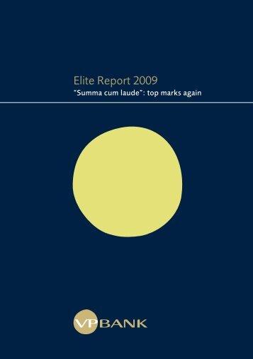 Elite Report 2009