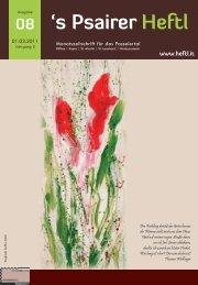 Ausgabe Mär. 2011 - Psairer Heftl