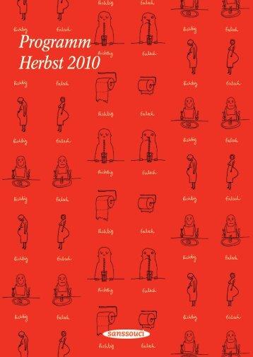 Sanssouci Vorschau Herbst 2010 - Hanser Literaturverlage