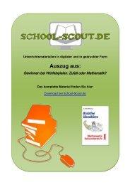 Gewinnen bei Würfelspielen: Zufall oder Mathematik? - School-Scout
