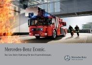 Econic für Feuerwehreinsatz (1359 KB, PDF) - Mercedes-Benz
