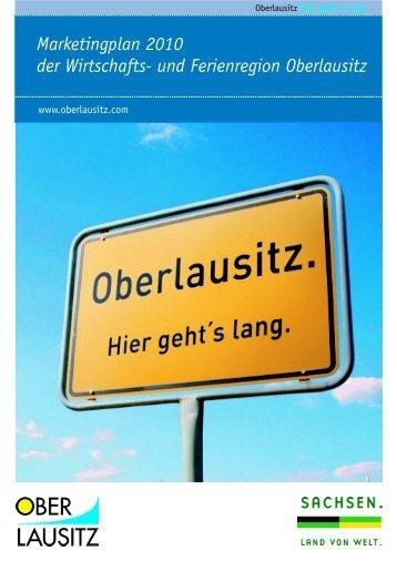 Marketingplan der Tourismus- und Ferienregion Oberlausitz 2006