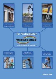 S ich erh eitstrep p en - Werkfreund Leiter-Sicherheitssysteme GmbH